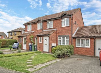 Thumbnail 3 bed semi-detached house for sale in Flint Way, Eynesbury, St. Neots