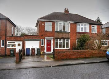 Thumbnail 3 bed semi-detached house for sale in Mill Hill Road, West Denton, Newcastle Upon Tyne