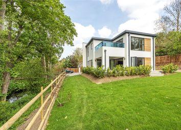 Thumbnail 4 bed detached house for sale in Old Malden Lane, Worcester Park, Surrey