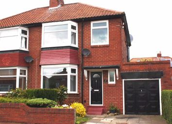 Thumbnail 3 bed semi-detached house for sale in Dovedale Gardens, High Heaton