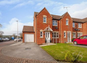 Thumbnail 3 bed town house for sale in Coral Crescent, Warsop, Mansfield