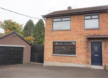 Thumbnail 3 bed end terrace house for sale in Beechgrove, Lisburn