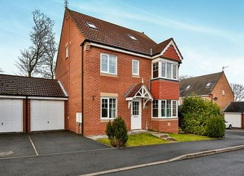 Thumbnail 4 bed detached house to rent in Coppice Mount, Crook