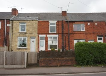Thumbnail 2 bed terraced house to rent in Chesterfield Road, Grassmoor, Chesterfield