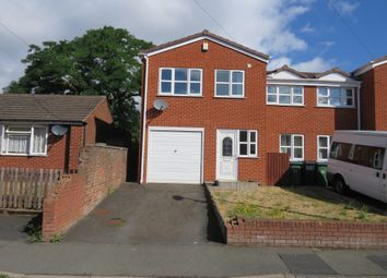 Thumbnail 4 bed semi-detached house for sale in Waggon Street, Cradley Heath