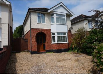 Thumbnail 3 bedroom detached house for sale in Gordon Road South, Poole