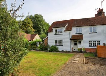 Thumbnail 3 bed semi-detached house for sale in Mill Lane, Frittenden, Kent