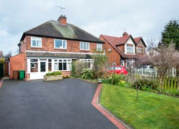Thumbnail 4 bed semi-detached house for sale in Wellfield Road, Alrewas, Burton-On-Trent