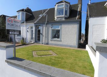 Thumbnail 4 bed semi-detached house for sale in Ardrossan Road, Saltcoats
