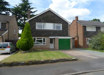 Thumbnail 3 bed detached house to rent in Glastonbury Close, Stafford