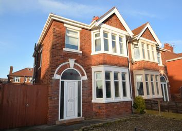 3 bed semi-detached house to rent in St Martins Road, Blackpool, Lancashire FY4