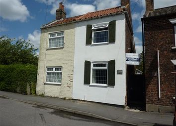 Thumbnail 2 bed cottage for sale in Riby Road, Keelby, Grimsby