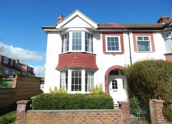 Thumbnail 3 bedroom end terrace house for sale in Langdale Avenue, Cosham, Portsmouth