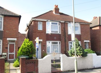 Thumbnail 3 bed semi-detached house for sale in Elson Road, Gosport