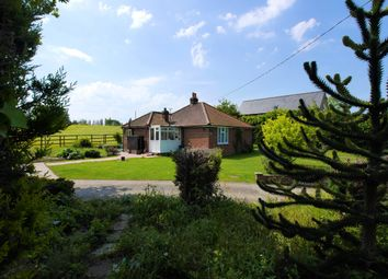 Thumbnail 3 bed detached bungalow for sale in Tower Mill Lane, Hadleigh, Ipswich, Suffolk