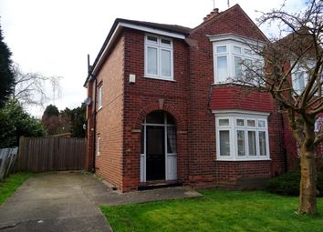 Thumbnail 3 bed semi-detached house for sale in Dunstan Crescent, Worksop