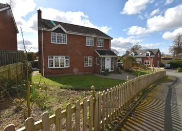 Thumbnail 4 bed detached house for sale in Corbet Drive, Adderley, Market Drayton