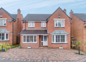 Thumbnail 4 bed detached house for sale in Ticknall Close, Brockhill, Redditch
