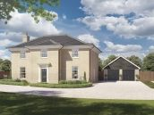 Thumbnail 3 bed detached house for sale in The Nelson At Saxon Meadows, Capel St Mary, Suffolk