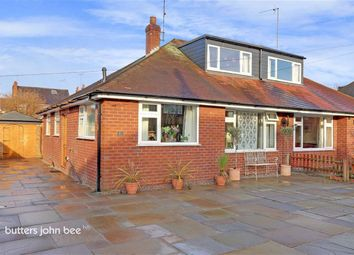 Thumbnail 4 bedroom semi-detached bungalow for sale in Poplar Drive, Alsager, Stoke-On-Trent