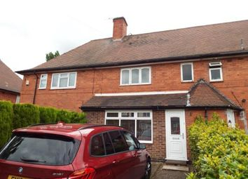Thumbnail 3 bed terraced house for sale in Swains Avenue, Nottingham, Nottinghamshire