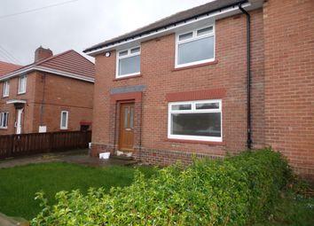 Thumbnail 4 bed semi-detached house for sale in Derwent Crescent, Leadgate, Consett