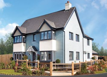 "Thumbnail 3 bedroom detached house for sale in ""The Sheringham"" at Harbour Road, Seaton"