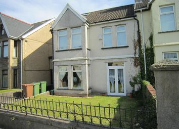 Thumbnail 4 bed semi-detached house for sale in Moorland Road, Bargoed