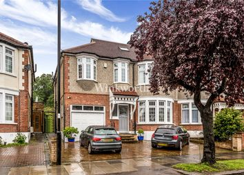 Thumbnail 5 bed semi-detached house for sale in Woodland Way, London