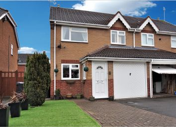 Thumbnail 3 bed semi-detached house for sale in Hogarth Drive, Hinckley