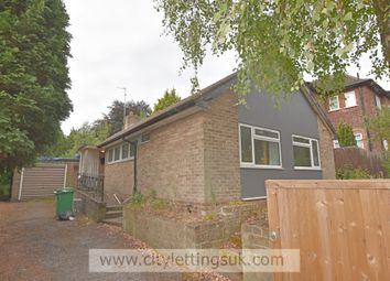 Thumbnail 5 bed detached bungalow to rent in Oundle Drive, Wollaton, Nottingham