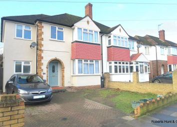 Thumbnail 4 bed semi-detached house for sale in Benedict Drive, Bedfont, Feltham