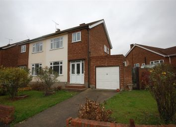 Thumbnail 3 bedroom semi-detached house for sale in Arlington Gardens, Harold Wood, Essex