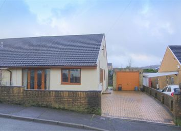 Thumbnail 2 bed semi-detached bungalow for sale in Pond Mawr, Maesteg, Mid Glamorgan