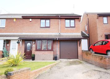 Thumbnail 3 bed semi-detached house for sale in Meadowside Close, Wingerworth, Chesterfield