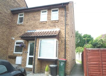 Thumbnail 1 bed end terrace house to rent in Gorse Close, Broadfield, Crawley
