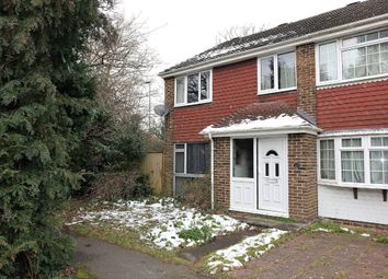 Thumbnail 3 bed end terrace house for sale in Lambourne Close, Dibden Purlieu, Southampton