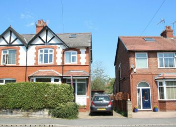Thumbnail 3 bed semi-detached house for sale in Grove Lane, Hale, Altrincham