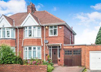 Thumbnail 3 bed semi-detached house for sale in Kenton Lane, Newcastle Upon Tyne