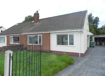 Thumbnail 3 bed semi-detached bungalow to rent in Oxford Road, Fulwood, Preston