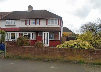 Thumbnail 4 bed semi-detached house for sale in Hampton Lane, Feltham
