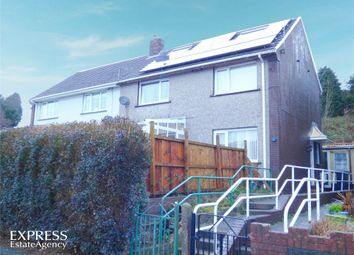 Thumbnail 3 bed end terrace house for sale in Baillie Smith Avenue, Crumlin, Newport, Blaenau Gwent