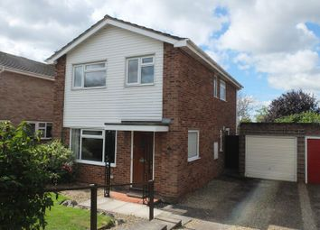 Thumbnail 4 bed detached house for sale in 2 Lambourne Close, Ledbury, Herefordshire