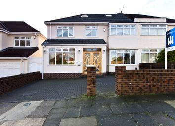 Thumbnail 6 bed semi-detached house for sale in Manor Road, Woolton, Liverpool, Merseyside