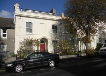 Thumbnail 2 bedroom flat to rent in Haddington Road, Stoke, Plymouth