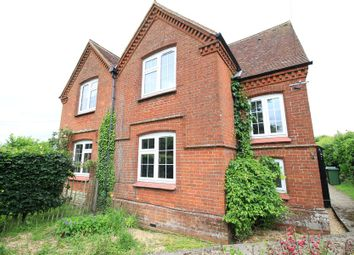 Thumbnail 2 bedroom semi-detached house to rent in Headbourne Worthy, Winchester