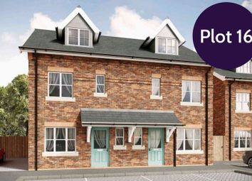 Thumbnail 3 bedroom semi-detached house for sale in Lime Kiln Court, Gwernymynydd, Mold