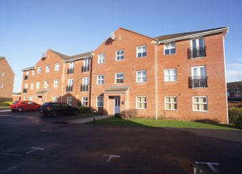 Thumbnail 2 bed flat to rent in Welland Road, Hilton, Derby