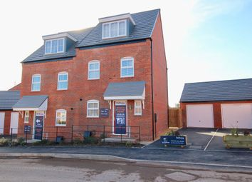 Thumbnail 3 bed semi-detached house for sale in Bramshall Green, Bramshall Road, Uttoxeter, Staffordshire