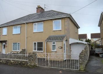 Thumbnail 3 bed semi-detached house for sale in Bryant Avenue, Westfield, Radstock